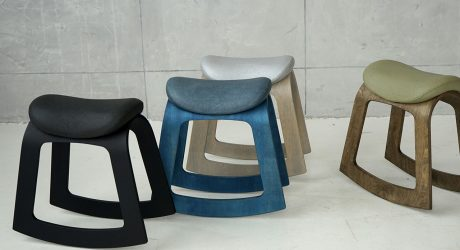 Move It With the Muista Rocking Desk Stool