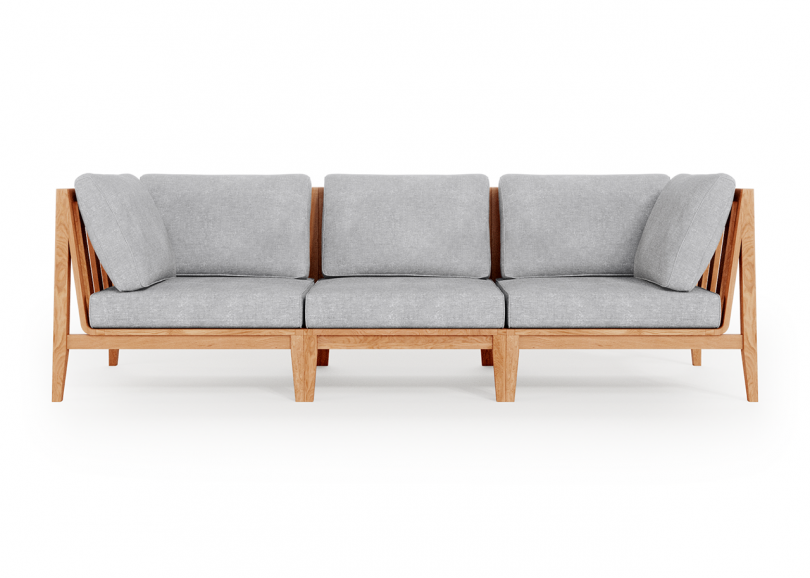 three seat outdoor sofa