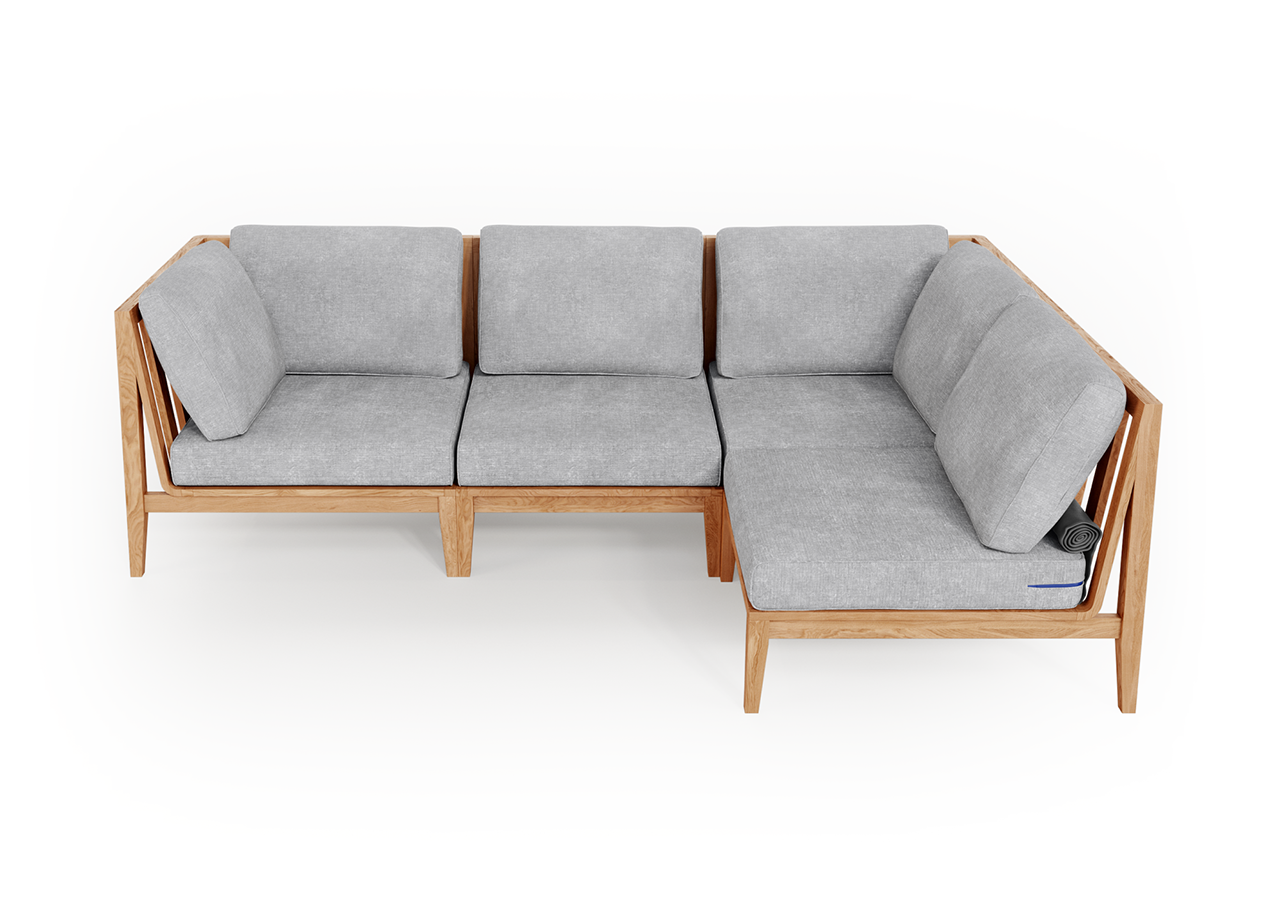 sectional outdoor sofa