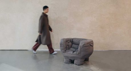 Jinyeong Yeon Creates Padded Chairs Out of Leftover Puffer Coats