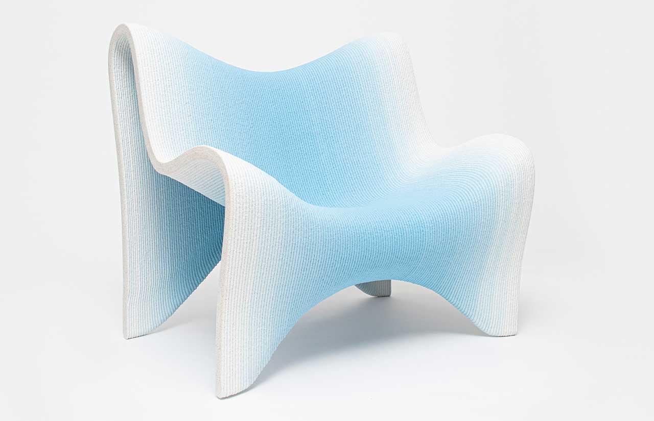 Philipp Aduatz Creates 3D-Printed Concrete Furniture and Vases