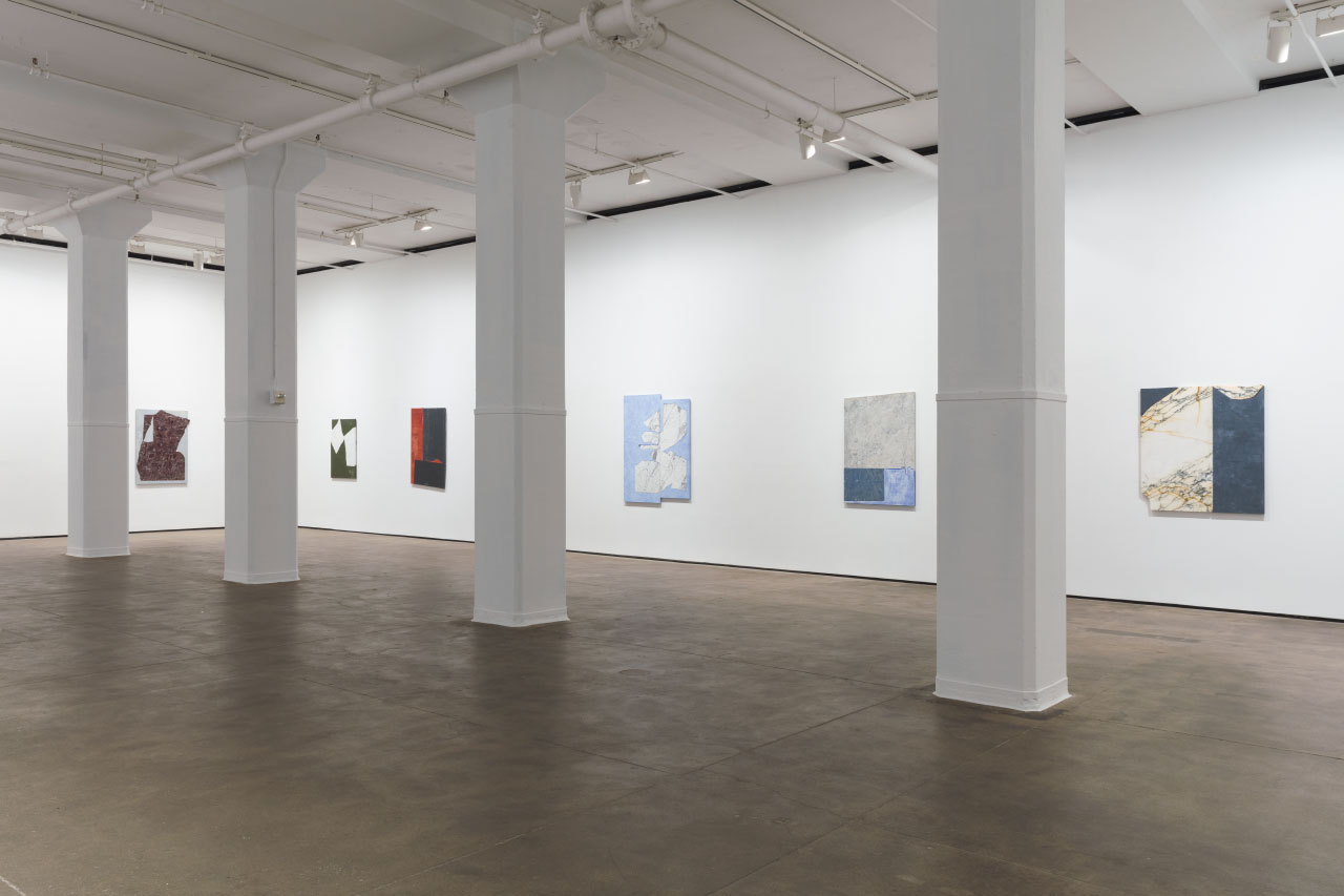Painting With Stone: Sam Moyer at Sean Kelly Gallery