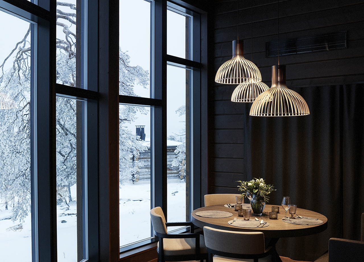 Scandinavian Pendant Lights Full of Warmth From Secto Design
