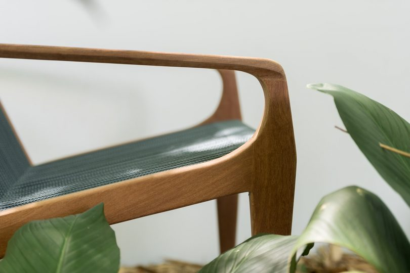 outdoor chair detail