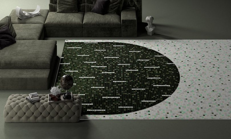 rug and couch