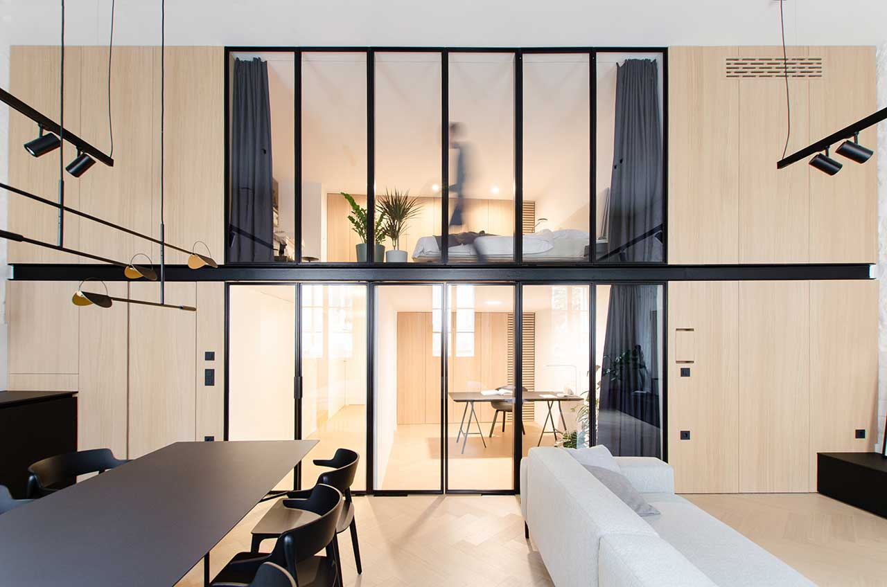 A Loft in Slovenia With Inside Home windows Permitting for Pure Mild