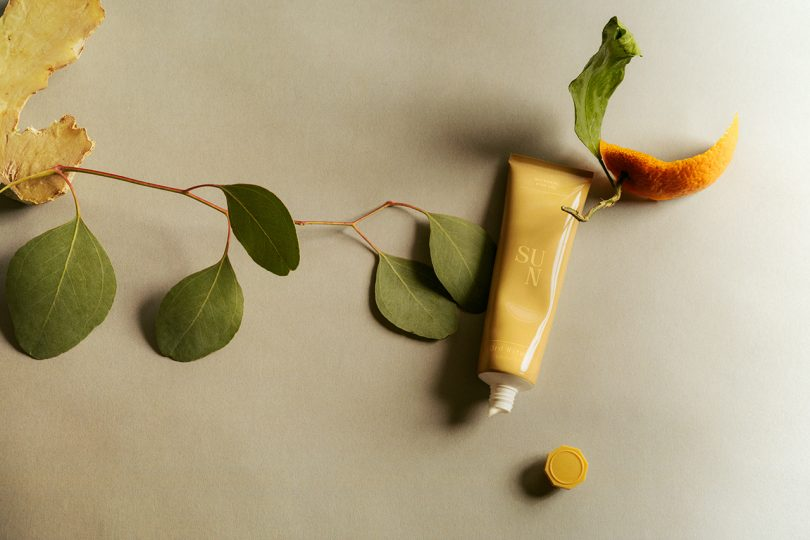 tube of body cream