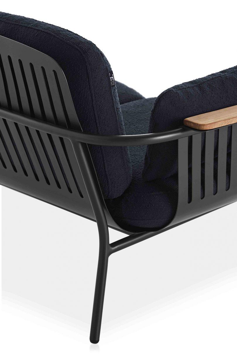outdoor armchair detail