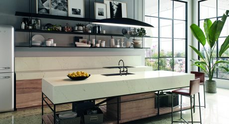 Bring Natural Light in With Caesarstone's Whitelight Collection