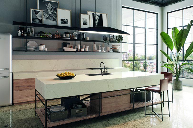Convey Pure Mild in With Caesarstone's Whitelight Assortment