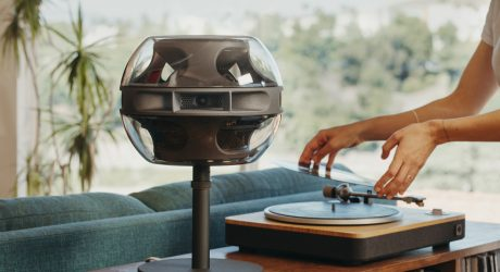 Syng Cell Alpha Audio Speaker's All-Encompassing 360 Degrees of Sound + Design
