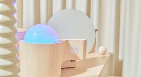 Emotion Collector by CODE STUDIO Turns Your Feelings Into Colorful Lighting