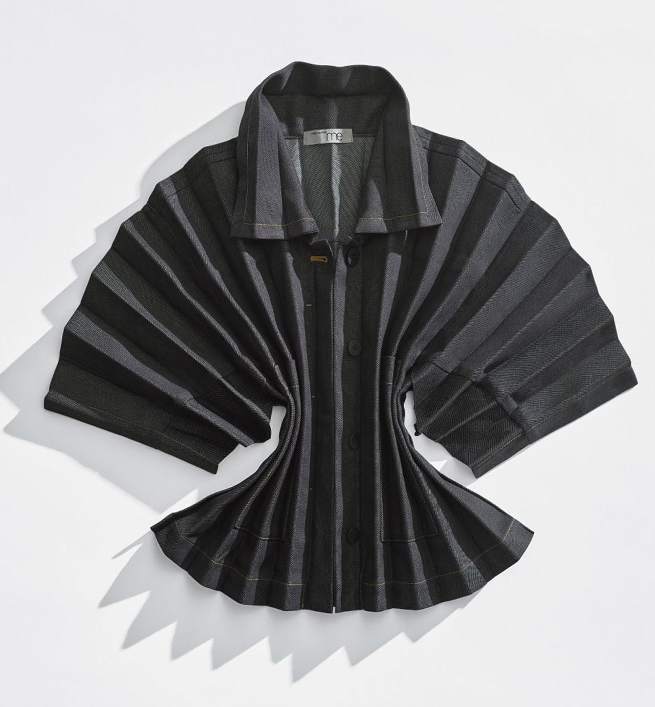pleated garment