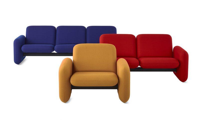 chair, two seat sofa, three seat sofa