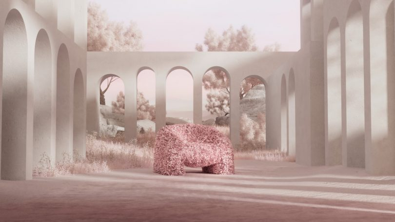The Hortensia Armchair by Moooi: A Dream Seat That Bloomed Into Reality