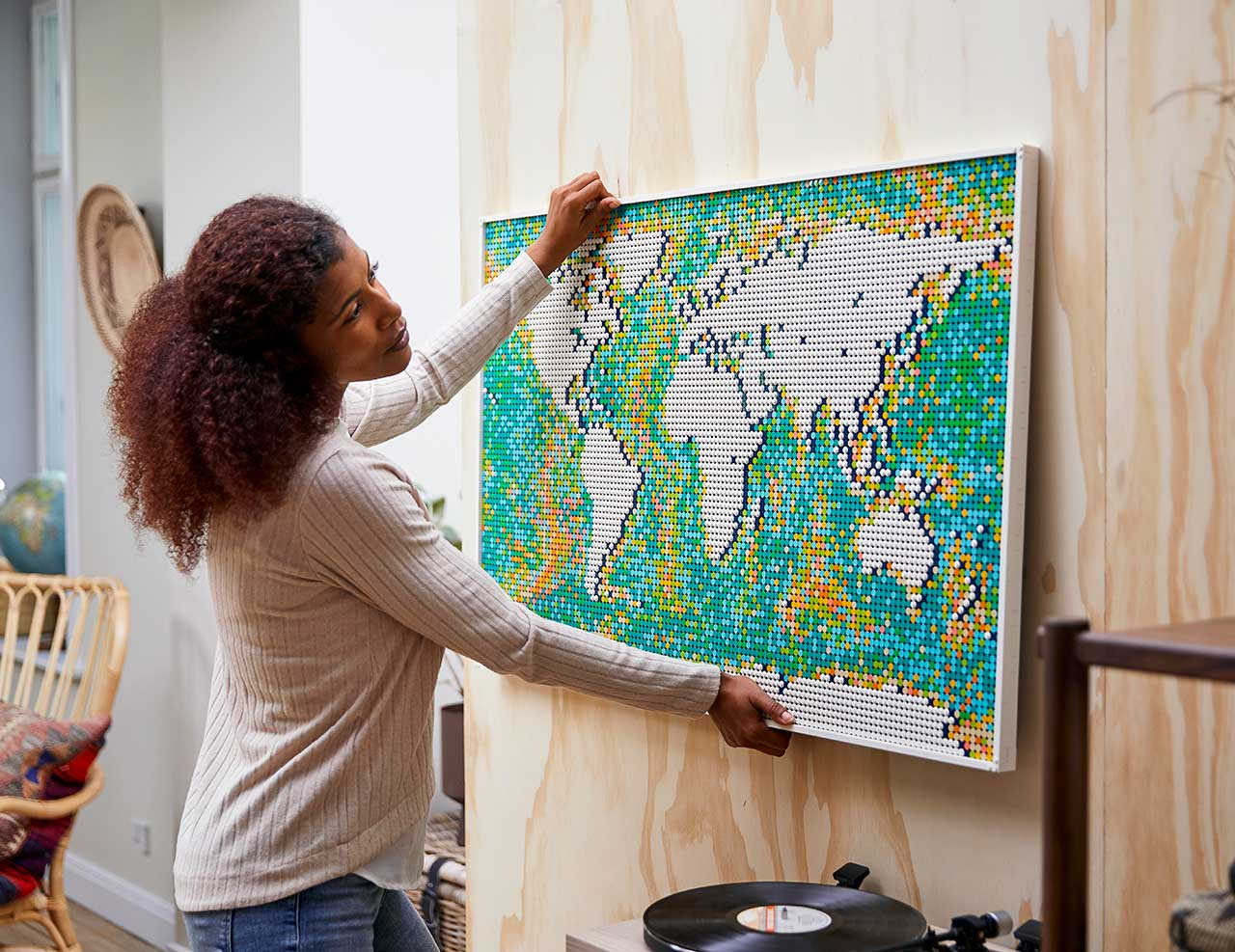 LEGO Unveils World Map: The Largest Set Ever With 11,695 Pieces