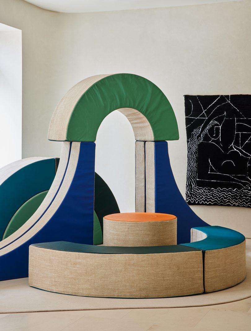sculptural seating