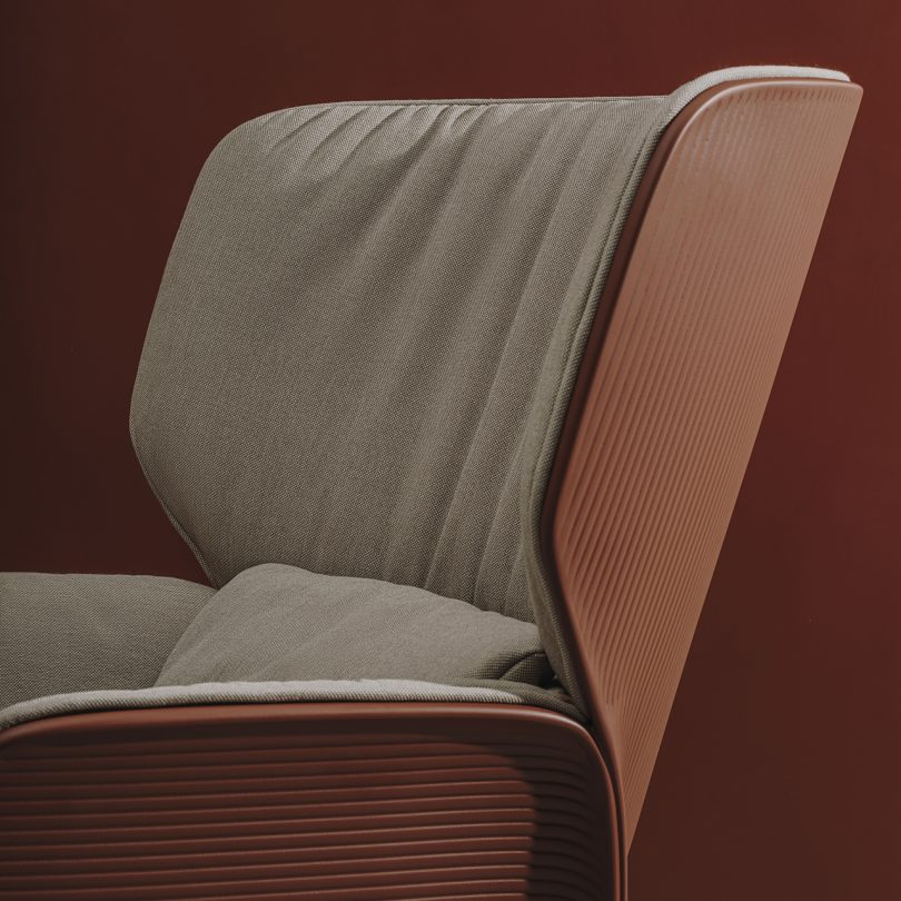 lounge chair detail