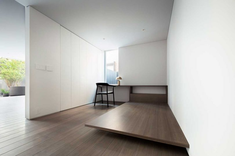 minimalist architecture Oki Sato Stairway House in Tokyo, Japan padstyle.com