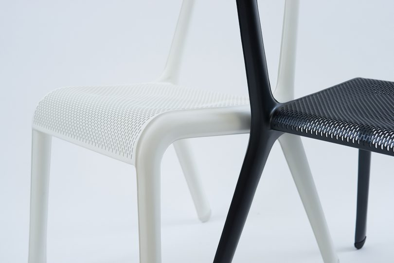 detail of two chairs