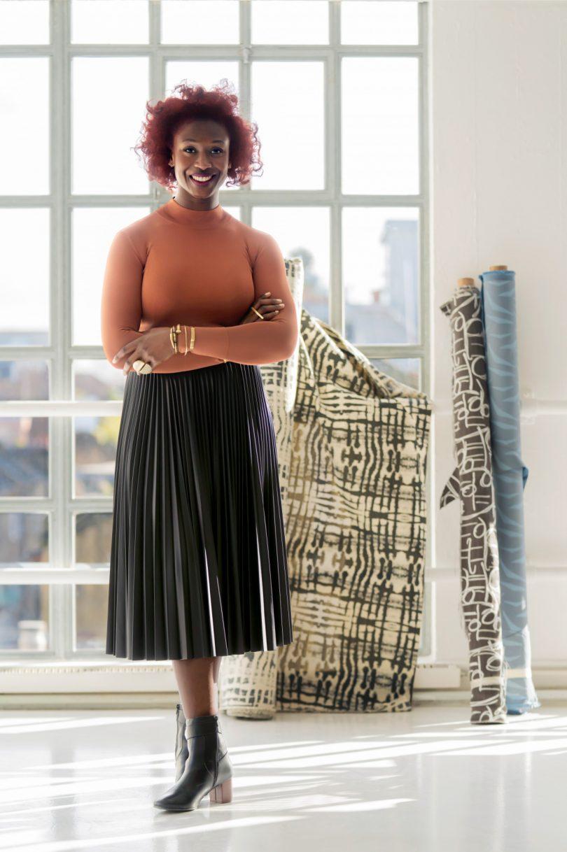 Designer Chrissa Amuah