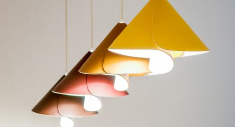 Bringing Spring Indoors With the Tulip Lamp by Pierre Cabrera
