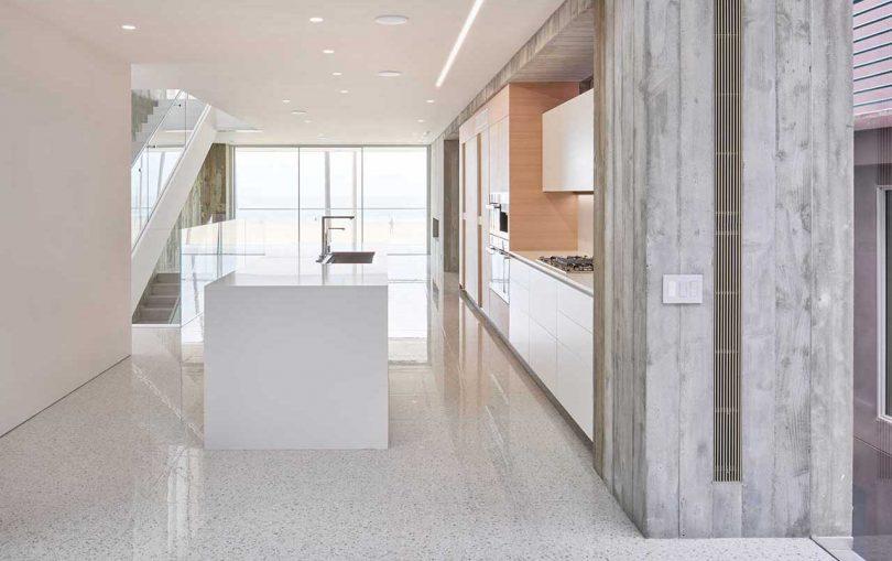 The Minimalist Positively Negative Residence by DBA Architecture