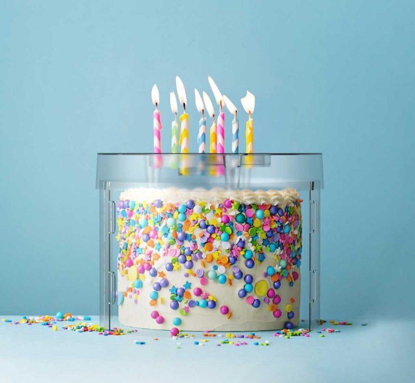 birthday cake shield
