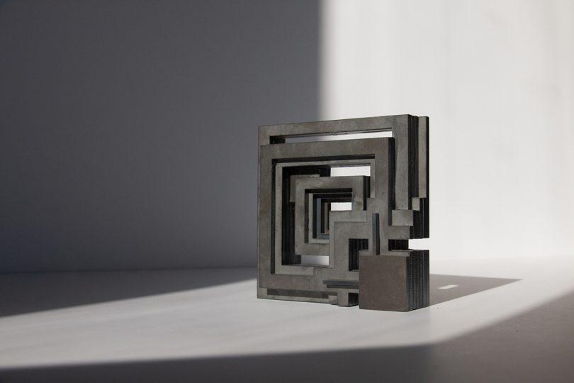 maze-like concrete object