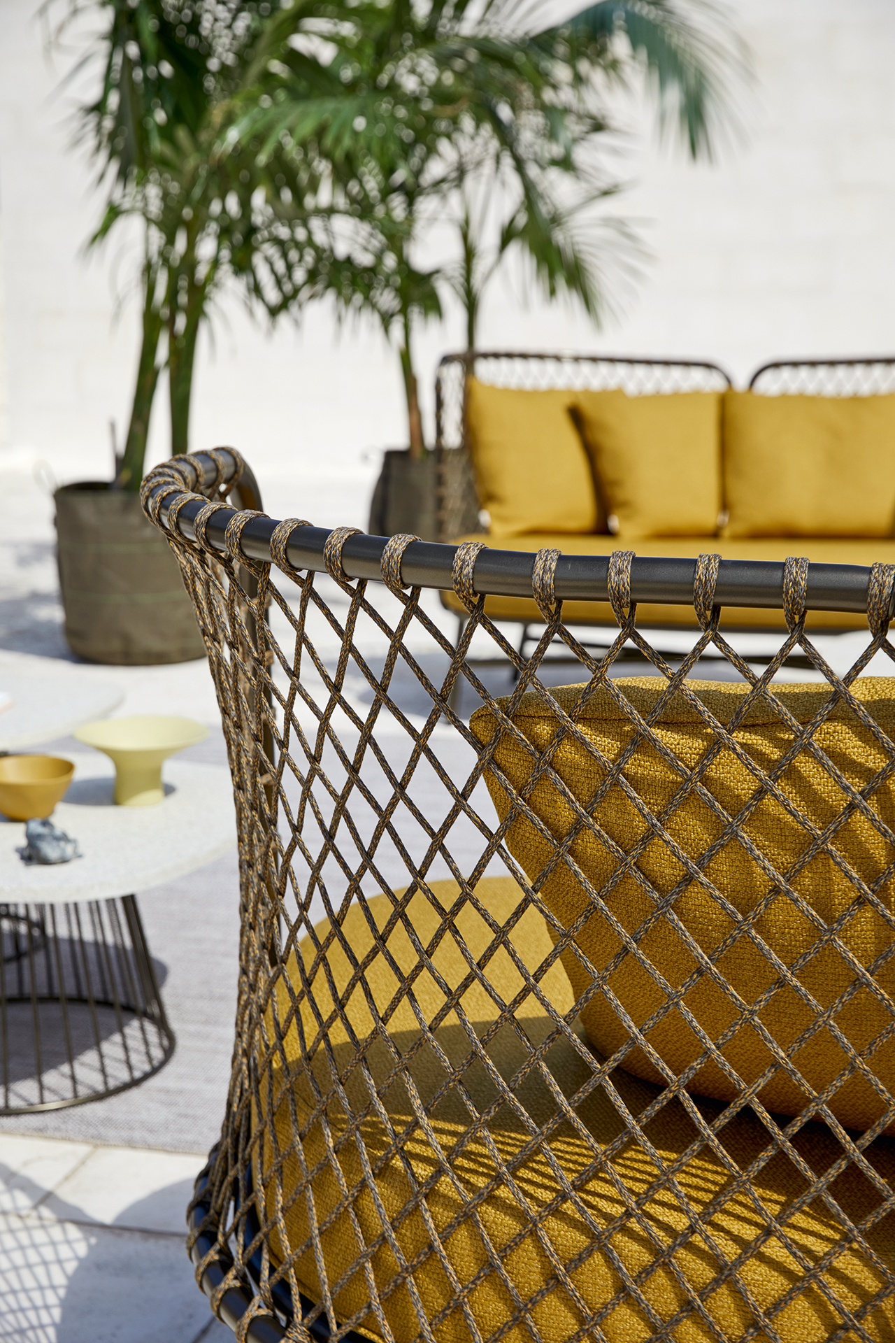 outdoor furniture outside