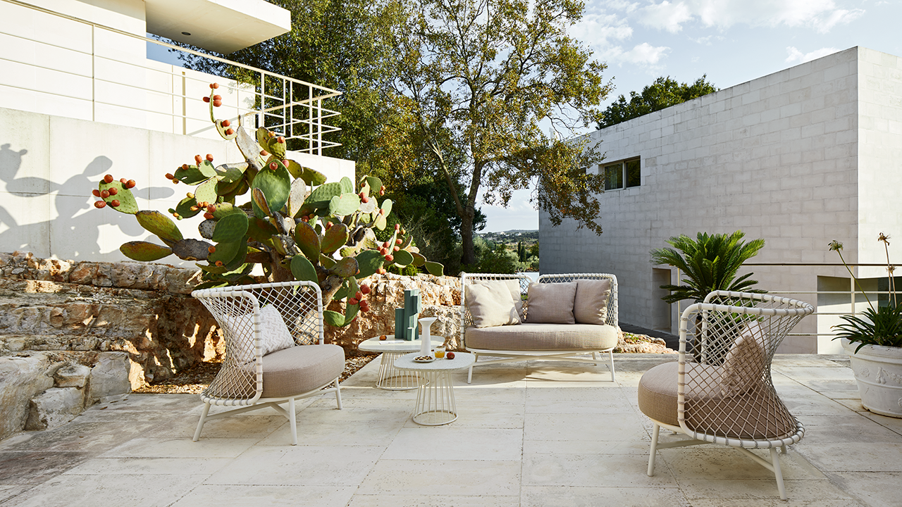 The Charme Outdoor Furniture Collection Is Ready to Envelop You