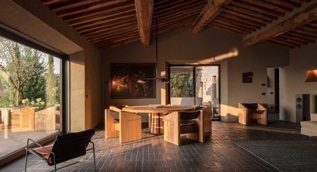 Escape to Tuscany to the Modern Casa Morelli on a Hill in the Chianti Region