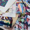 closeup of textiles