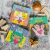 three children's books