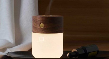 Gingko's New Smart Diffuser Lamp Will Excite Your Senses of Sight + Smell