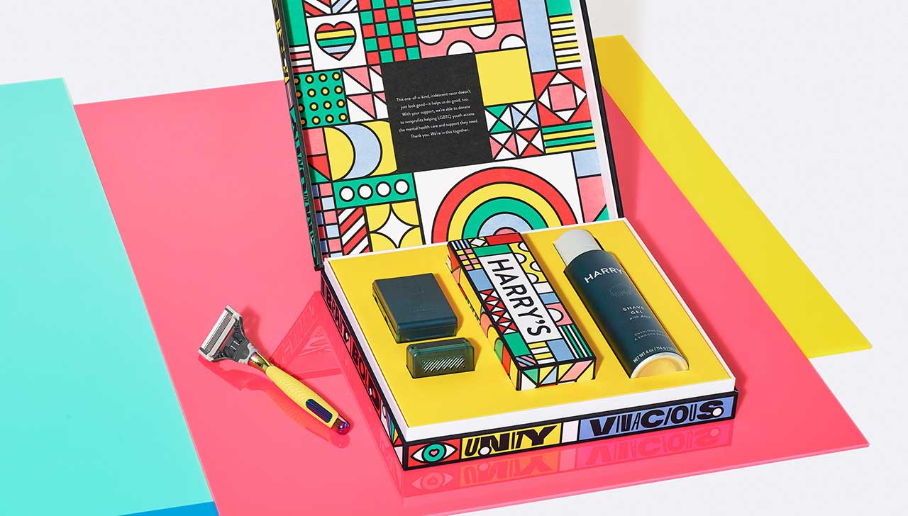 Harry's Releases Shave With Pride Set in Collaboration With Zipeng Zhu