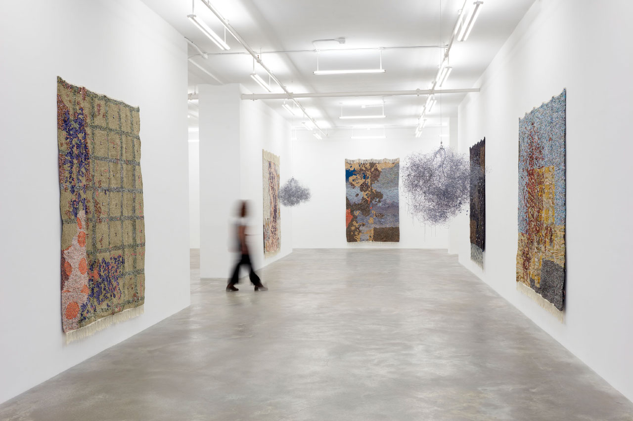 Surprising Materials and Literal Pathways: The Tapestries of Igshaan Adams
