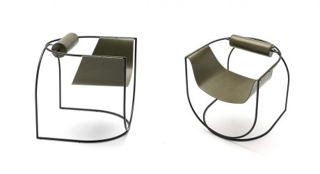 The Sculptural Lemni Armchair Is a 10 in Style + Comfort