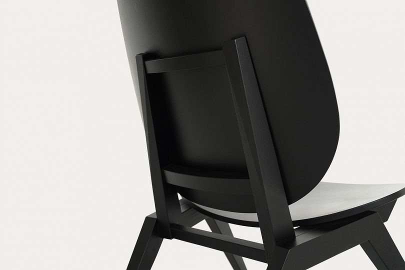 detail of chair back