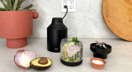 In the Kitchen Creating Recipes With the Beast Blender