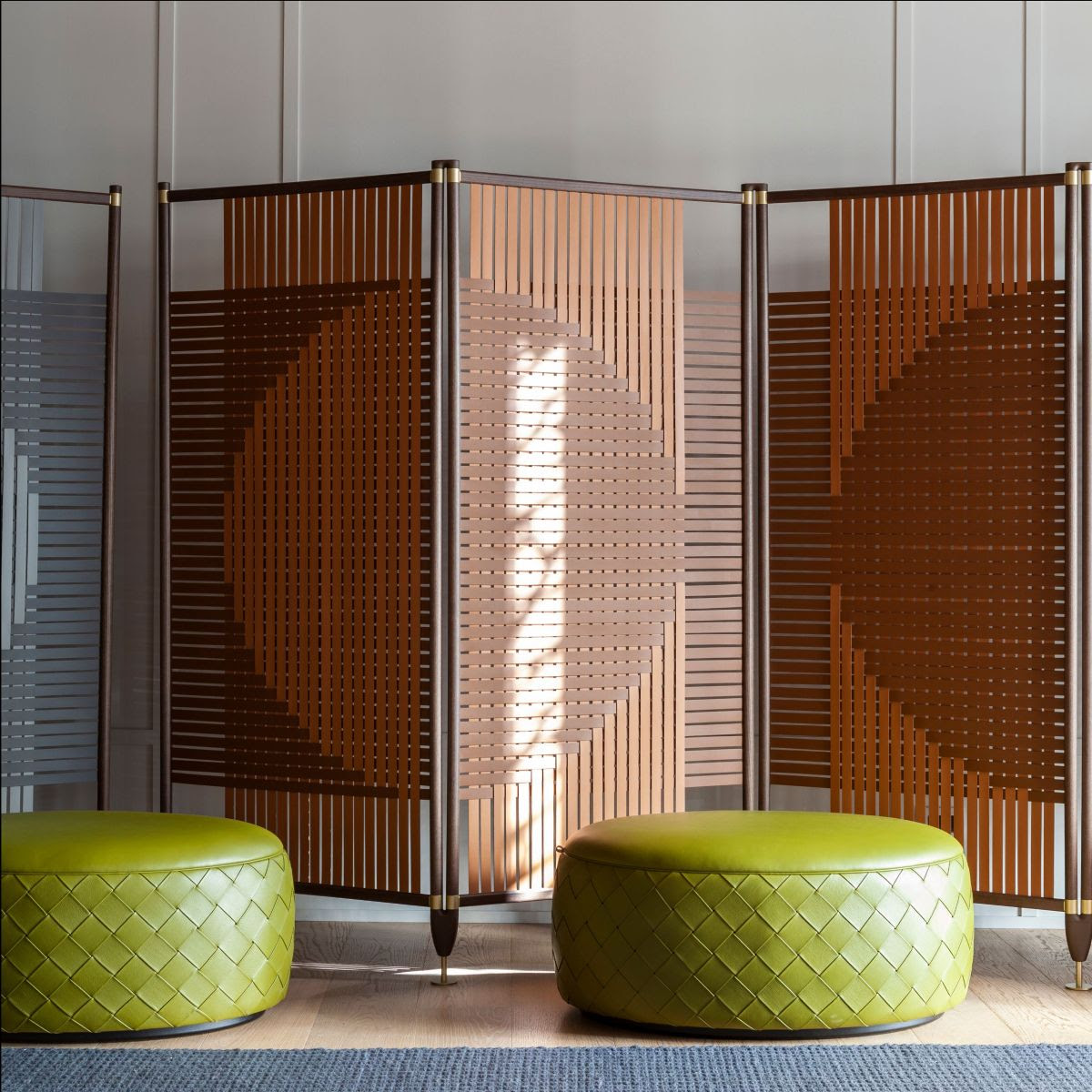 Plot: A Series of Playful Room Dividers by GamFratesi for Poltrona Frau
