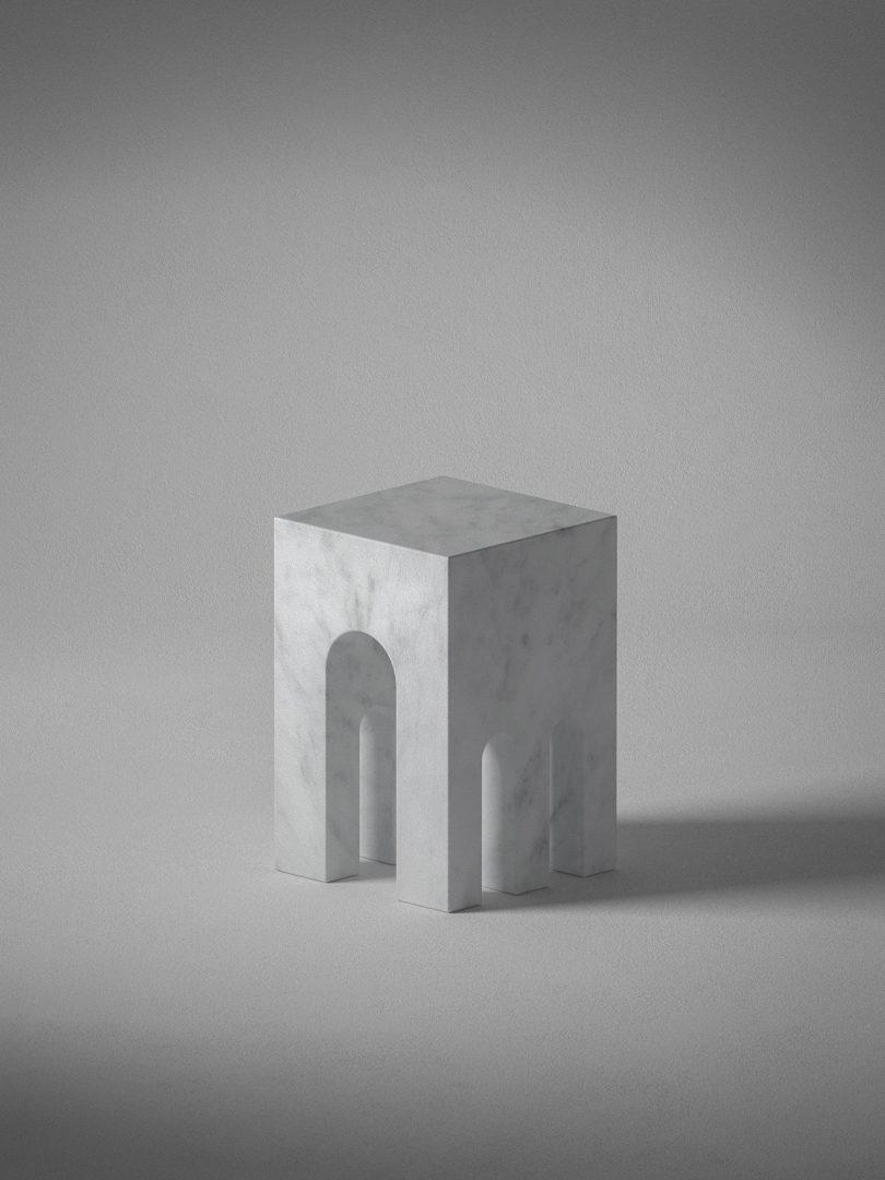 grey sculpture