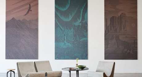 An Algorithm Transforms Images Into Sound-Absorbing Wall Art