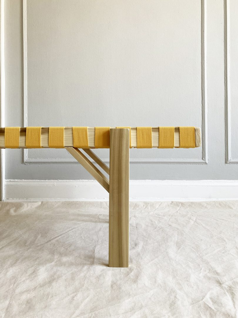 sideview of bench