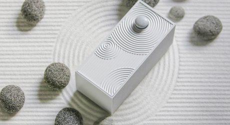 The Design Milk Tech 10: A Visualization of Sound, Zen Garden Speaker + Dyson's Dust Hunting Vacuum