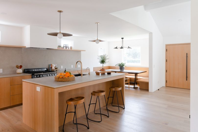 A Los Angeles Home Gets a Dramatic Scandinavian-Inspired Transformation