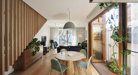 The Brunswick Green House in Australia Gets a Sustainably Efficient Update