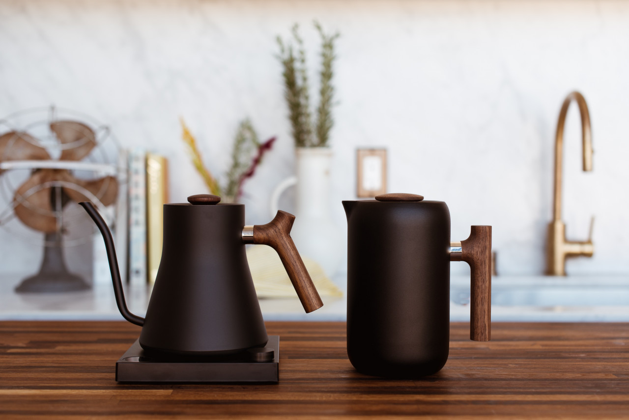 Fellow Designs a Modern French Press + Jeong Coffee Teaches Us How to Use It