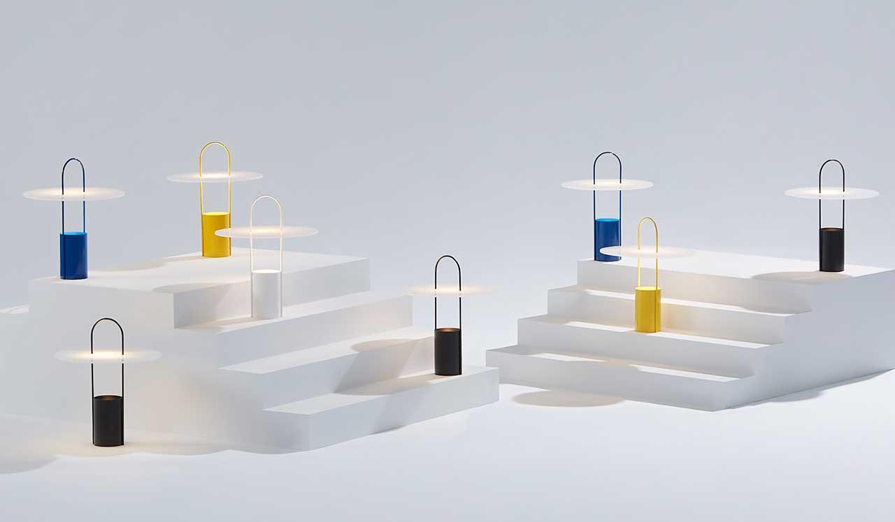 Meet NOMADE: A Design Milk x hollis+morris Light Inspired by Vintage Petrol Lamps