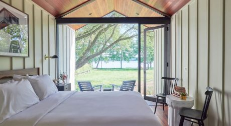Escape New York City to Hutton Brickyards for a Stay in a Luxury Cabin